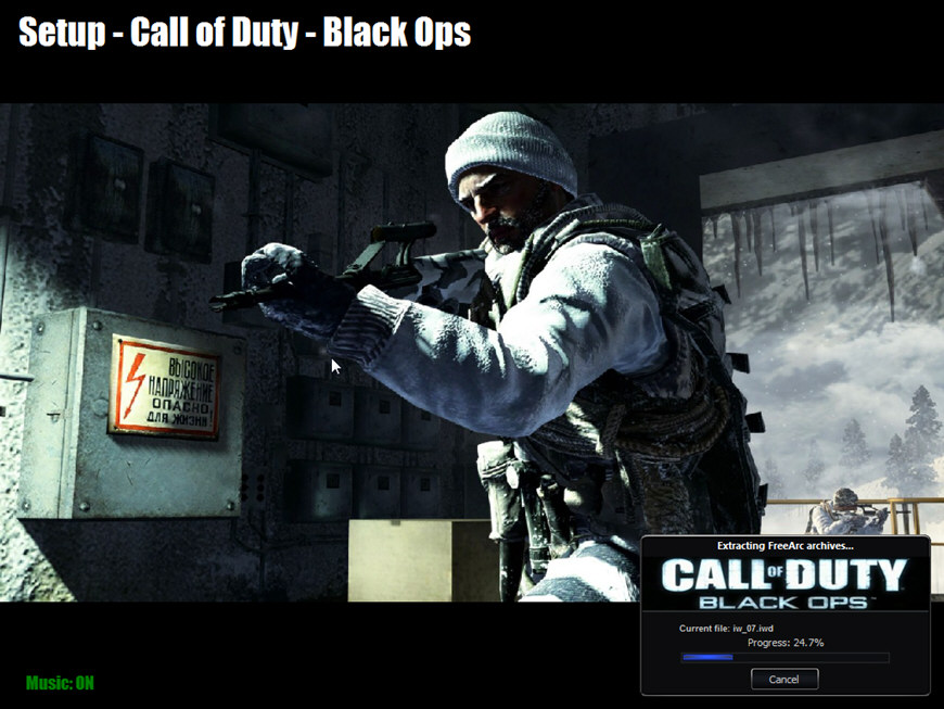 call of duty 1 cd 2 iso