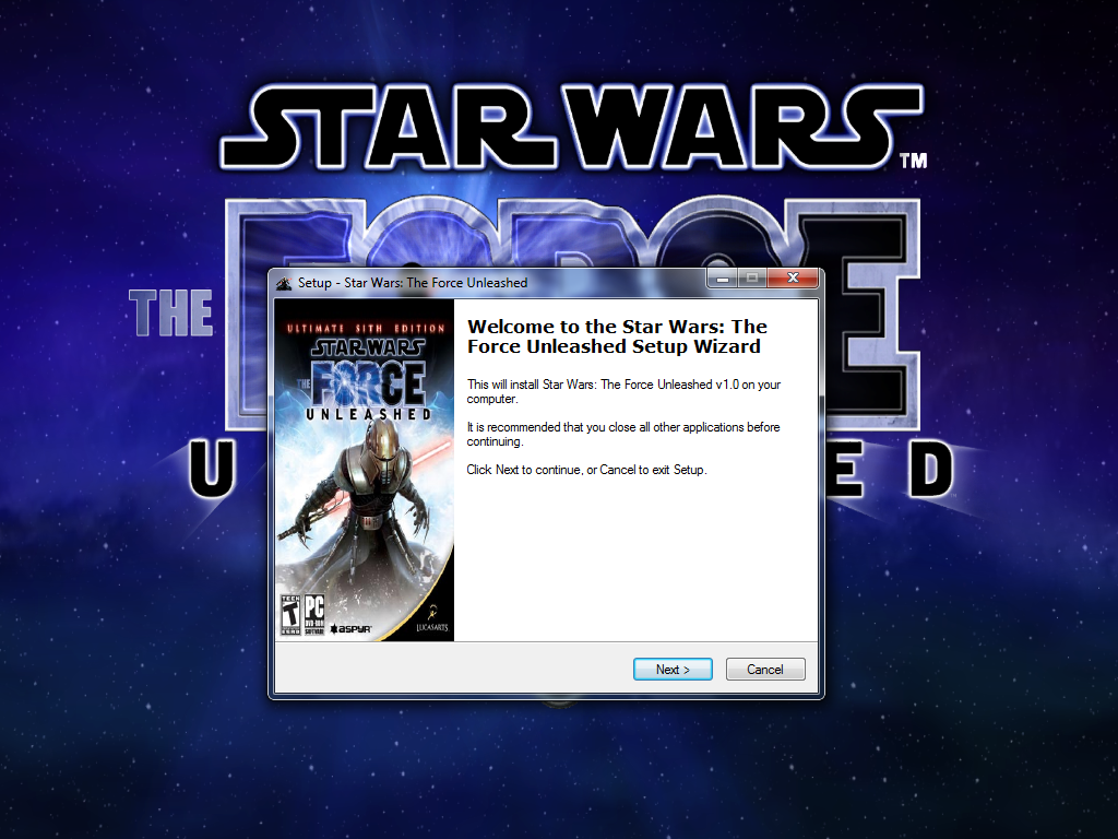 star wars the force unleashed iso